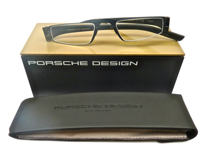 PORSCHE DESIGN® Lesebrille 8801 S mattblau- schwarz