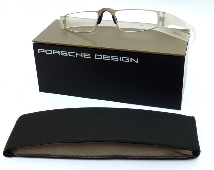 PORSCHE DESIGN® Fertiglesebrille 8801 M transparent silber