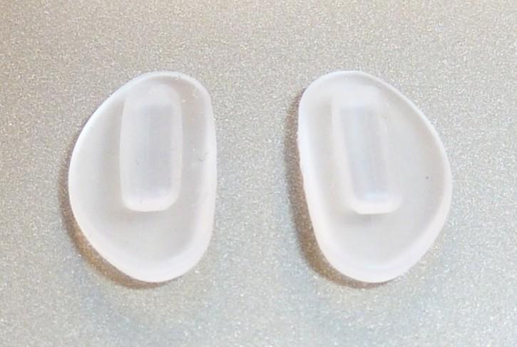 Nasensteg Pad PORSCHE DESIGN® Sonnenbrille transparent 1 Paar zentral