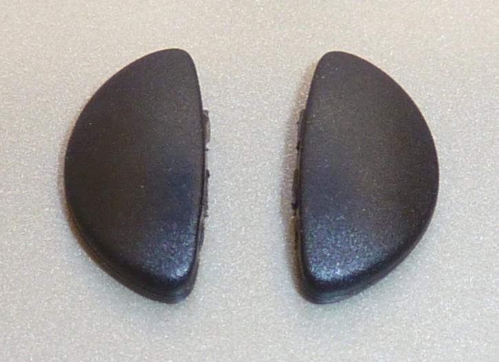Nasensteg Pad PORSCHE DESIGN® Sonnenbrille schwarz 1 Paar