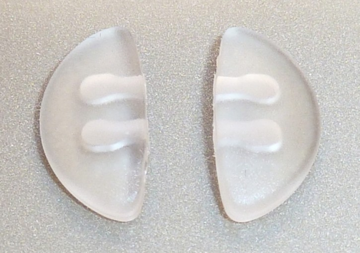 Nasensteg Pad PORSCHE DESIGN® Sonnenbrille transparent 1 Paar