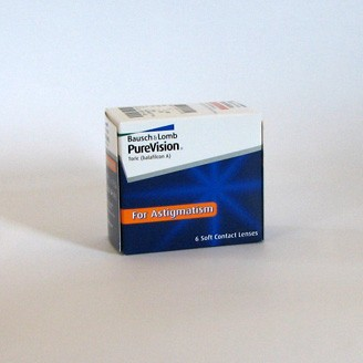 Bausch + Lomb PureVision Toric For Astigmatism - 6er Box