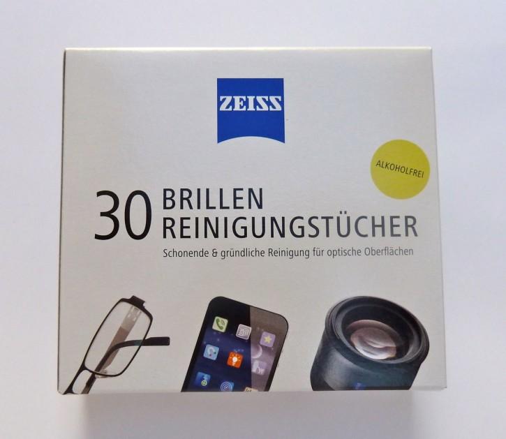 ZEISS Brillen Reinigungstücher 30Stück