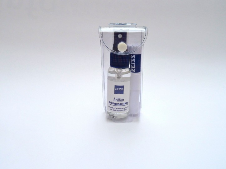 ZEISS Brillen Reinigungsset klein 30ml Spray + Mikrofasertuch