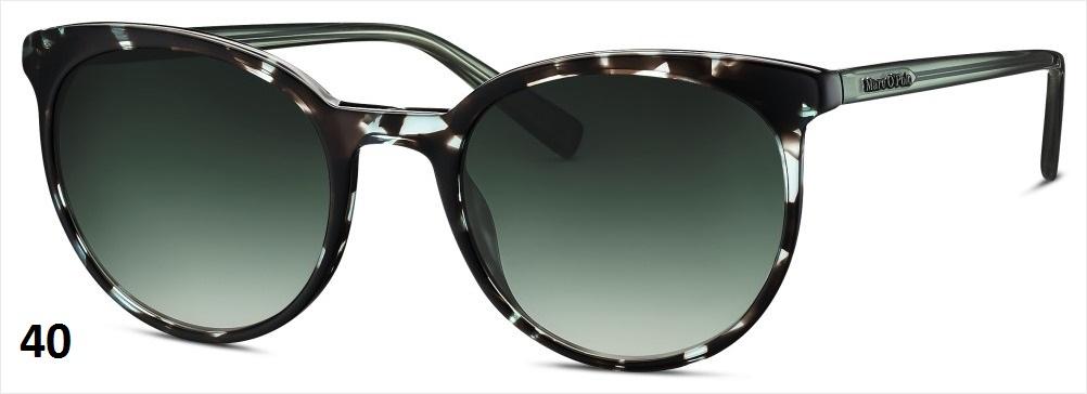 MARC O'POLO Eyewear MARC O'POLO 506133 40 grün strukturiert BMQV05