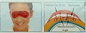 LipoNit® Lidpflege Wärme Gel Brille