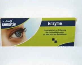 oculsoft® sensitive Enzyme Proteinentfernungstabletten 12 Tabl.